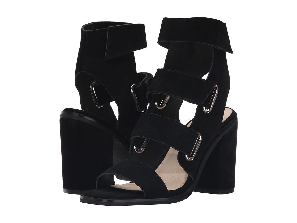 Sol Sana - Lixer Heel (Black Suede) High Heels