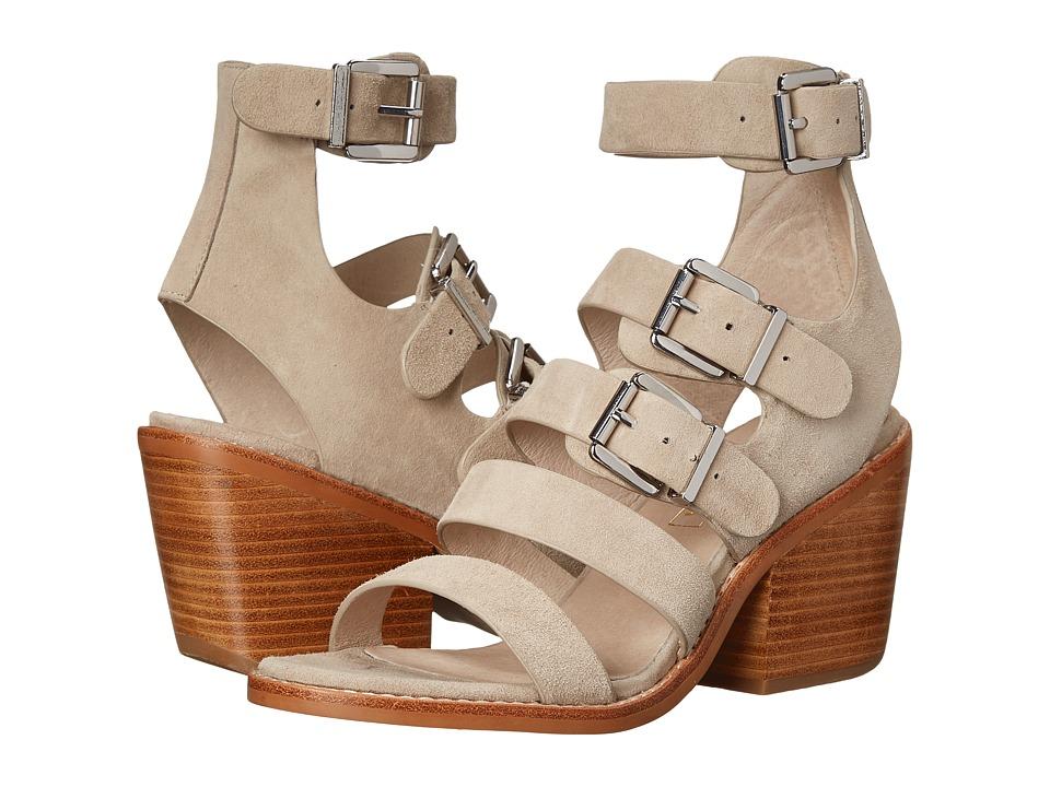 Sol Sana - Casper Heel (Taupe Suede) High Heels