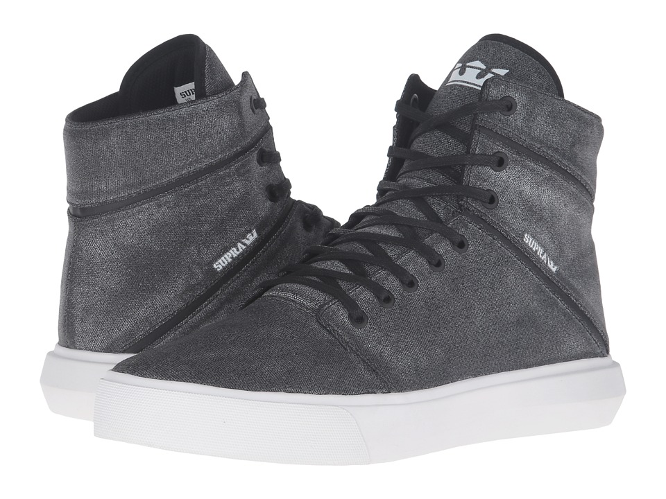 Supra - Camino (Washed Grey Canvas) Men's Skate Shoes