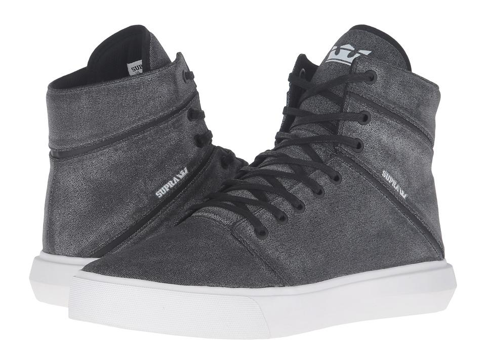 Supra - Camino (Washed Grey Canvas) Men's Skate Shoes