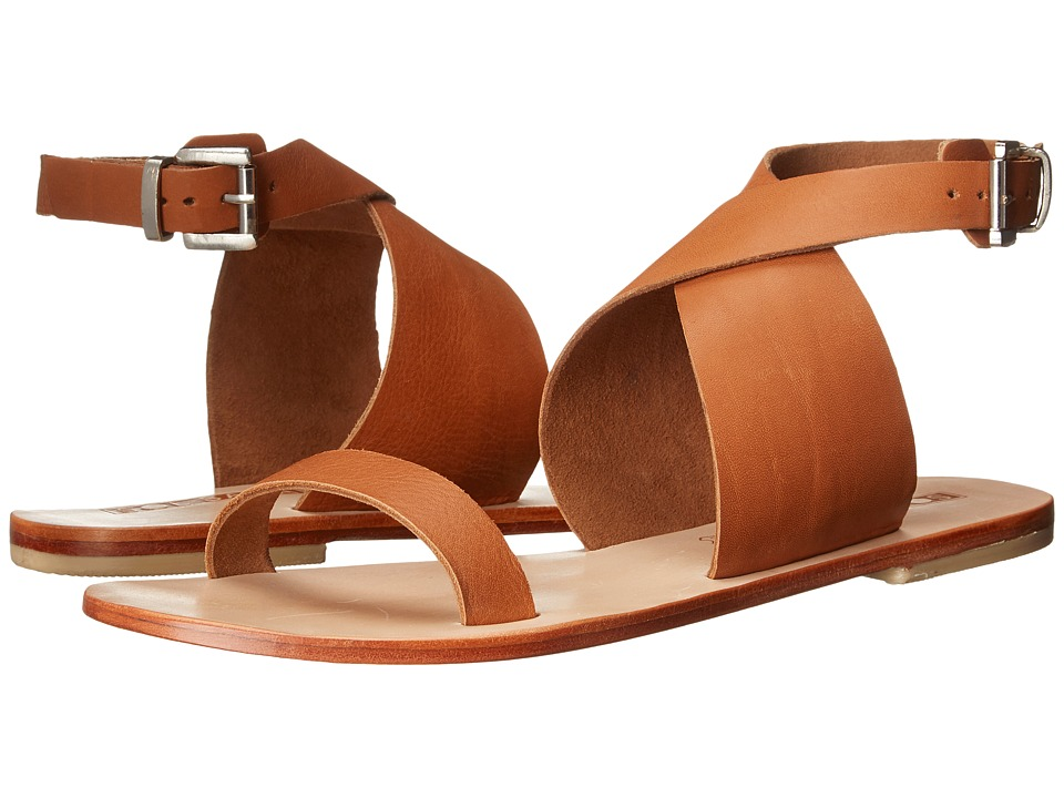Sol Sana - Kennedy Sandal (Burnt Tan) Women's Sandals