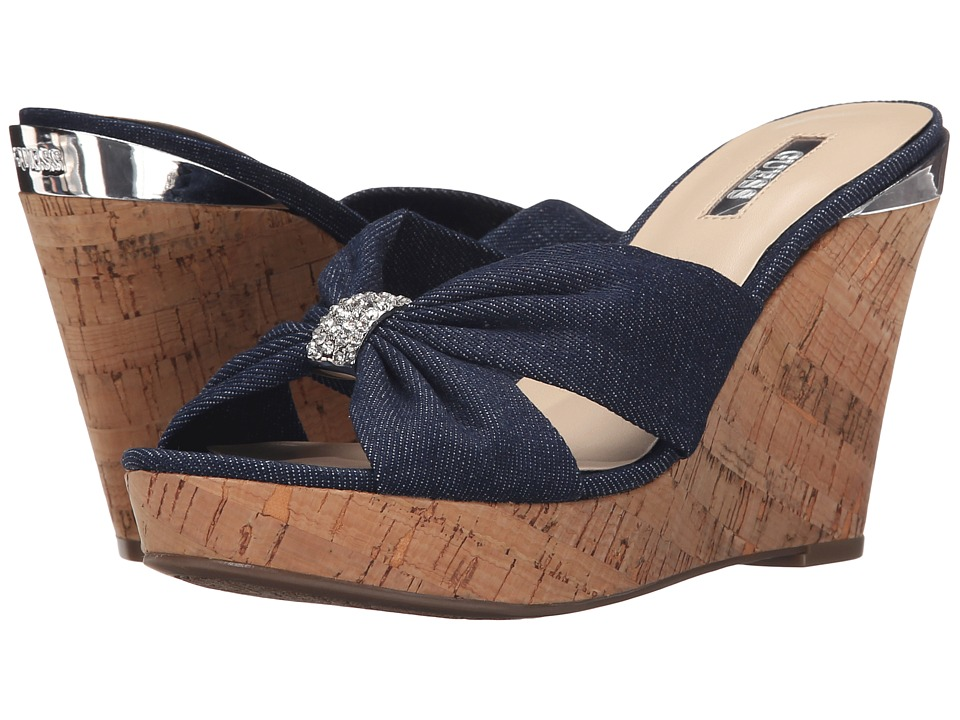 GUESS - Betzy (Denim) Women's Wedge Shoes