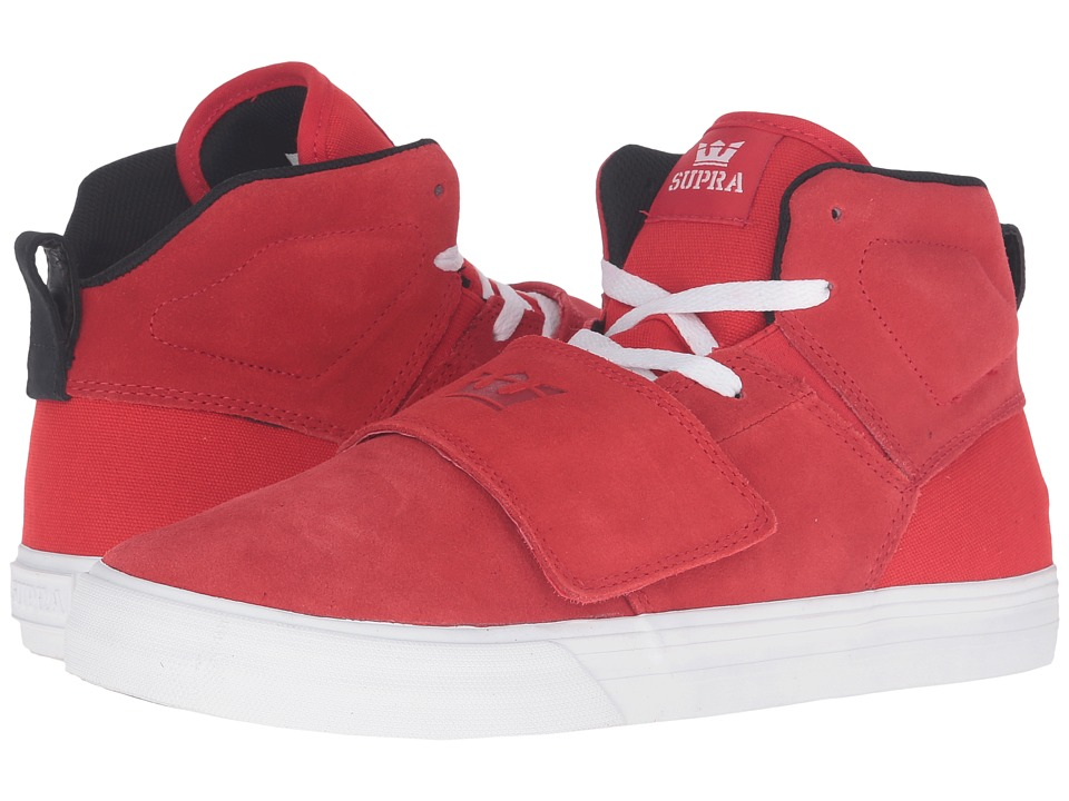 Supra - Rock (Red Suede) Men's Skate Shoes