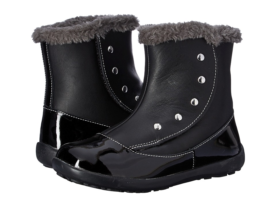 See Kai Run Kids - Amelia (Toddler/Little Kid) (Black Patent) Girl's Shoes
