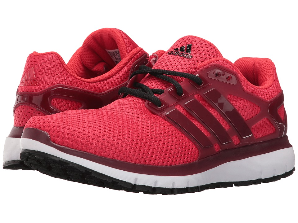 adidas - Energy Cloud (Ray Red/Collegiate Burgundy/Vivid Red) Men's Shoes