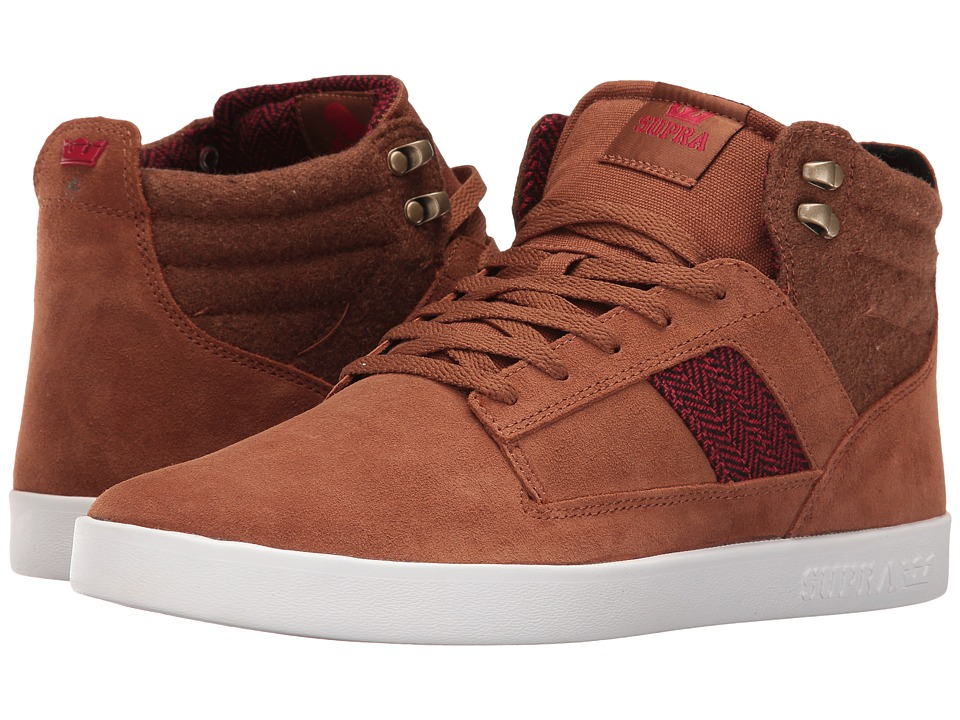 Supra - Bandit (Brown Suede) Men's Skate Shoes