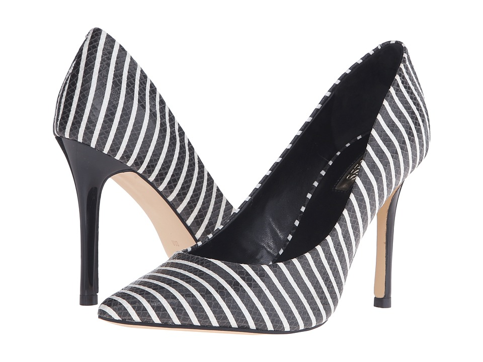 GUESS - Eloy (Black/White) High Heels