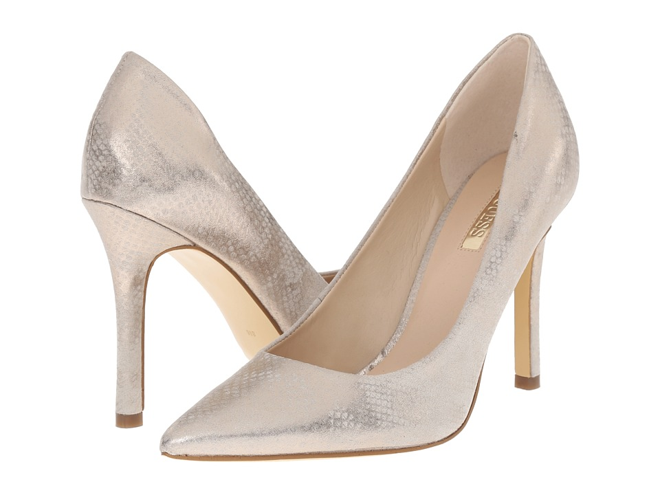 GUESS - Eloy (Snake Synthetic) High Heels