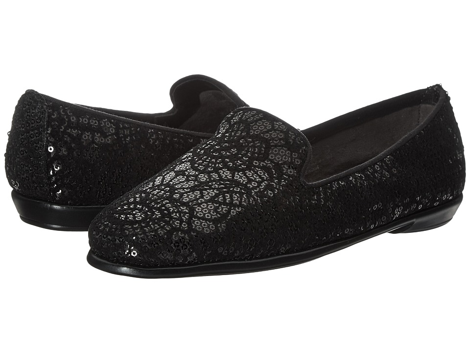 Aerosoles - Betunia (Black Velvet) Women's Flat Shoes