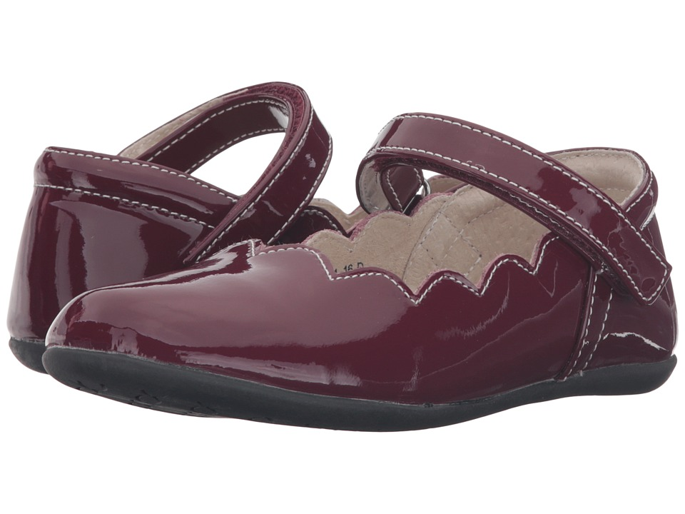See Kai Run Kids Savannah (Toddler/Little Kid) (Burgundy Patent) Girl