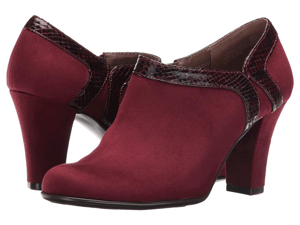 Aerosoles - Day Strole (Wine Fabric) High Heels