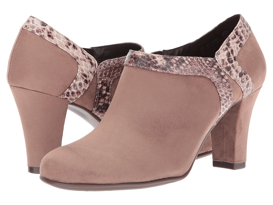 Aerosoles - Day Strole (Taupe Snake) High Heels