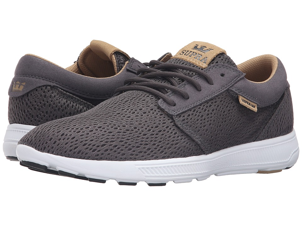 Supra - Hammer Run (Charcoal Mesh) Men's Skate Shoes