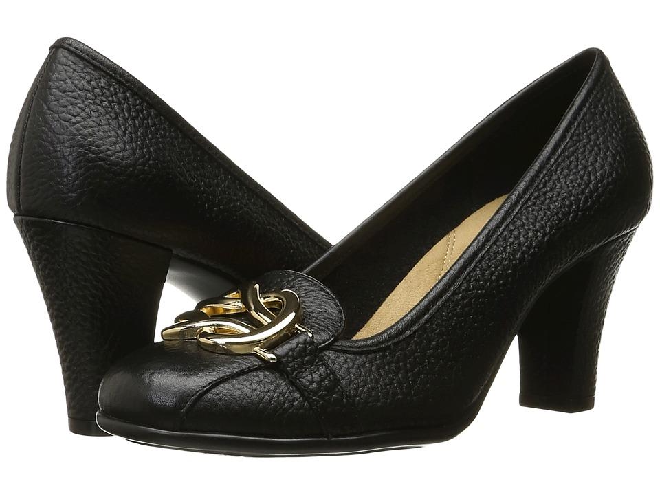 Aerosoles - Enrollment (Black Leather) High Heels