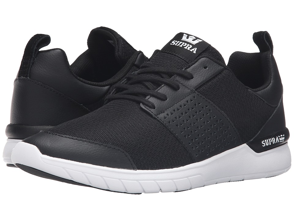 Supra - Scissor (Black Leather) Men's Skate Shoes