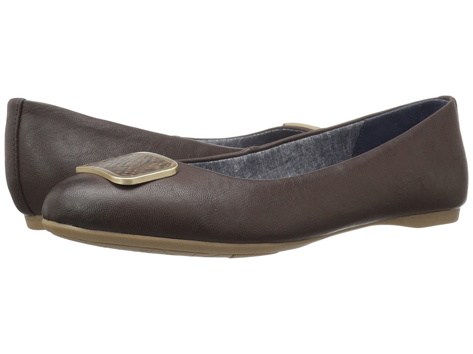 Dr. Scholl's - Giselle (Dark Brown) Women's Shoes