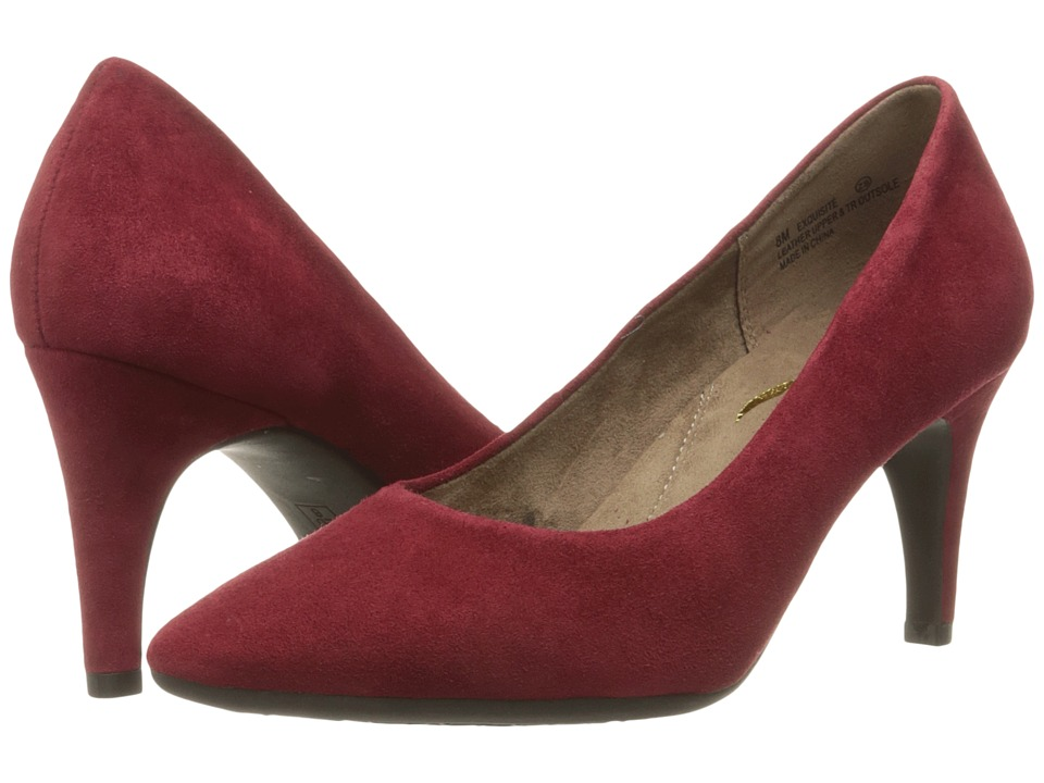Aerosoles - Exquisite (Dark Red Suede) High Heels