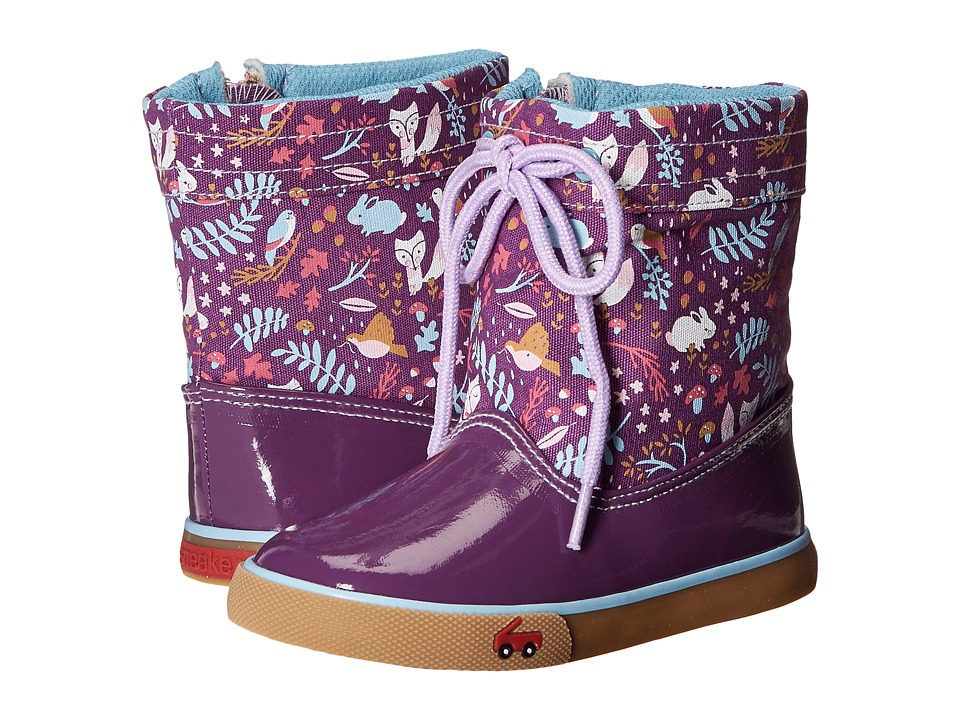 See Kai Run Kids - Greta (Toddler) (Purple) Girl's Shoes