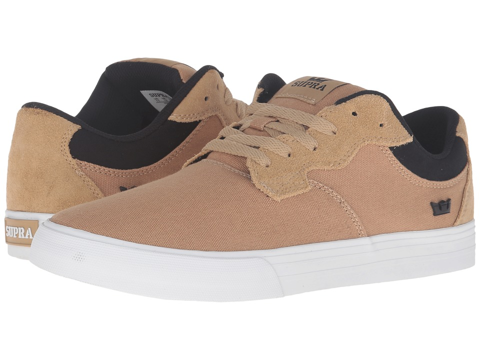 Supra - Axle (Khaki Suede) Men's Skate Shoes