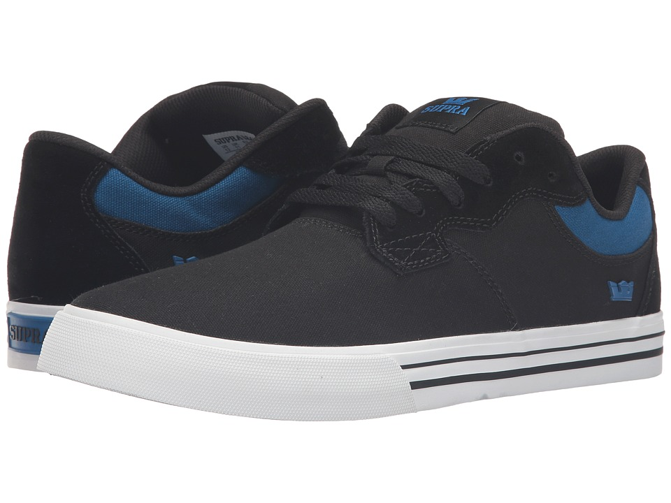 Supra - Axle (Black Suede) Men's Skate Shoes