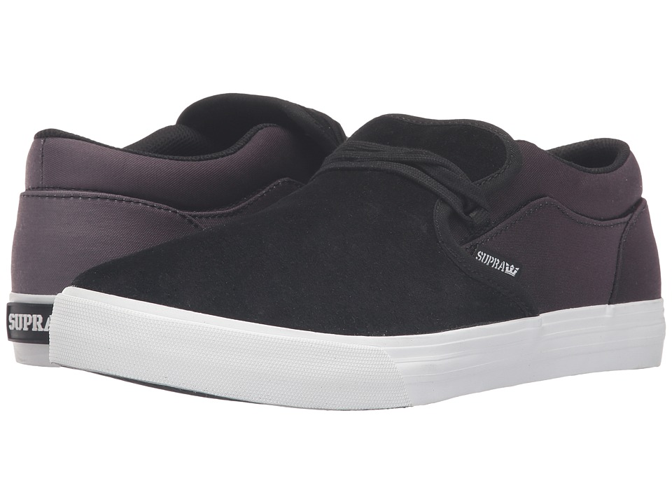 Supra - Cuba (Black Suede) Men's Skate Shoes