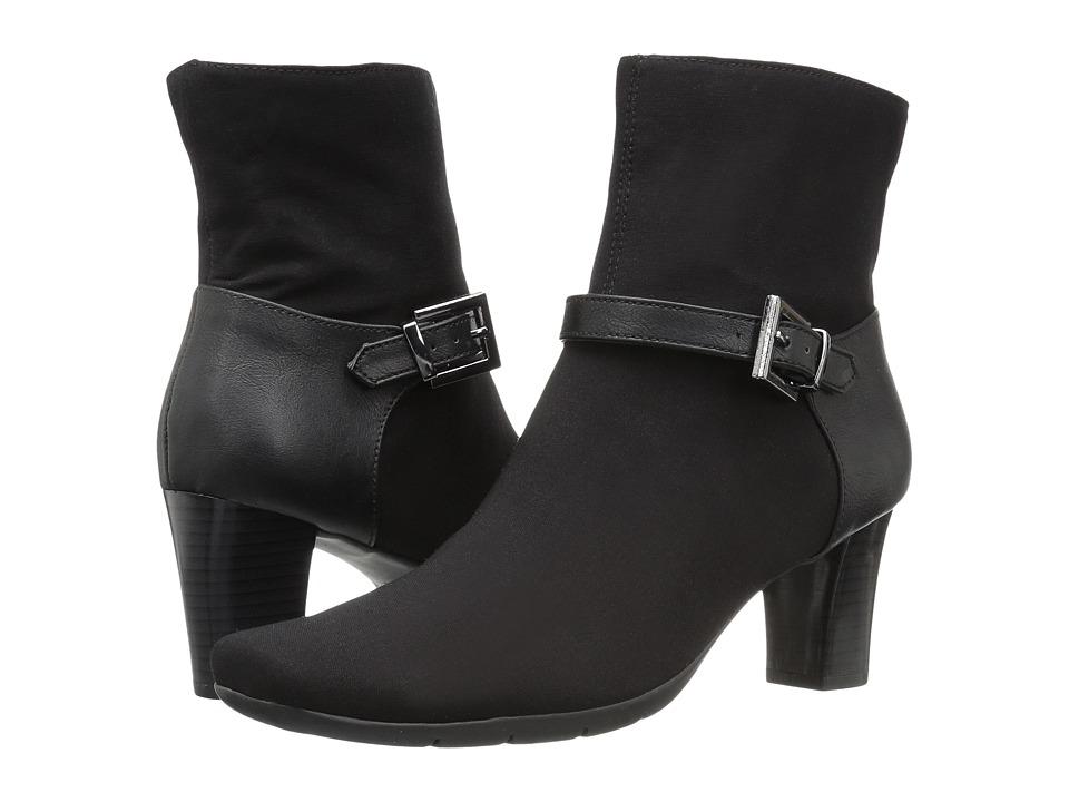Aerosoles - Harmonica (Black Combo) Women's Pull-on Boots
