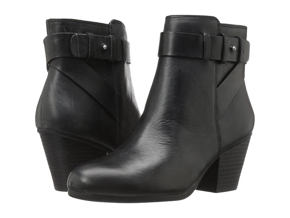 Aerosoles - Inevitable (Black Leather) Women's Pull-on Boots