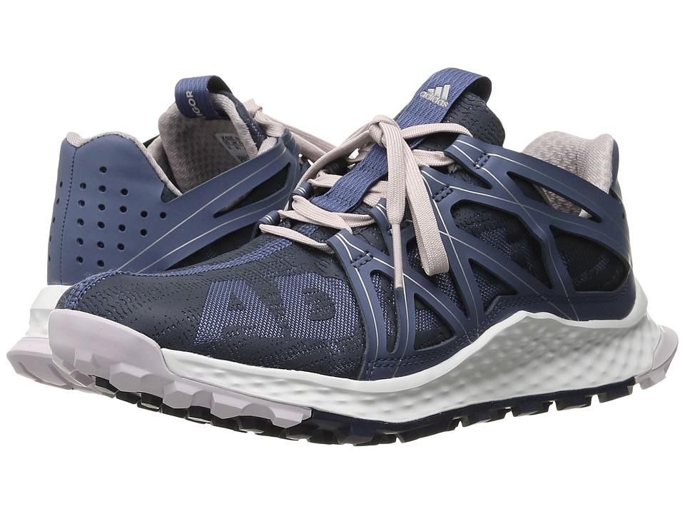 adidas Running - Vigor Bounce (Dark Grey/Core Black/Shock Pink) Women's Running Shoes