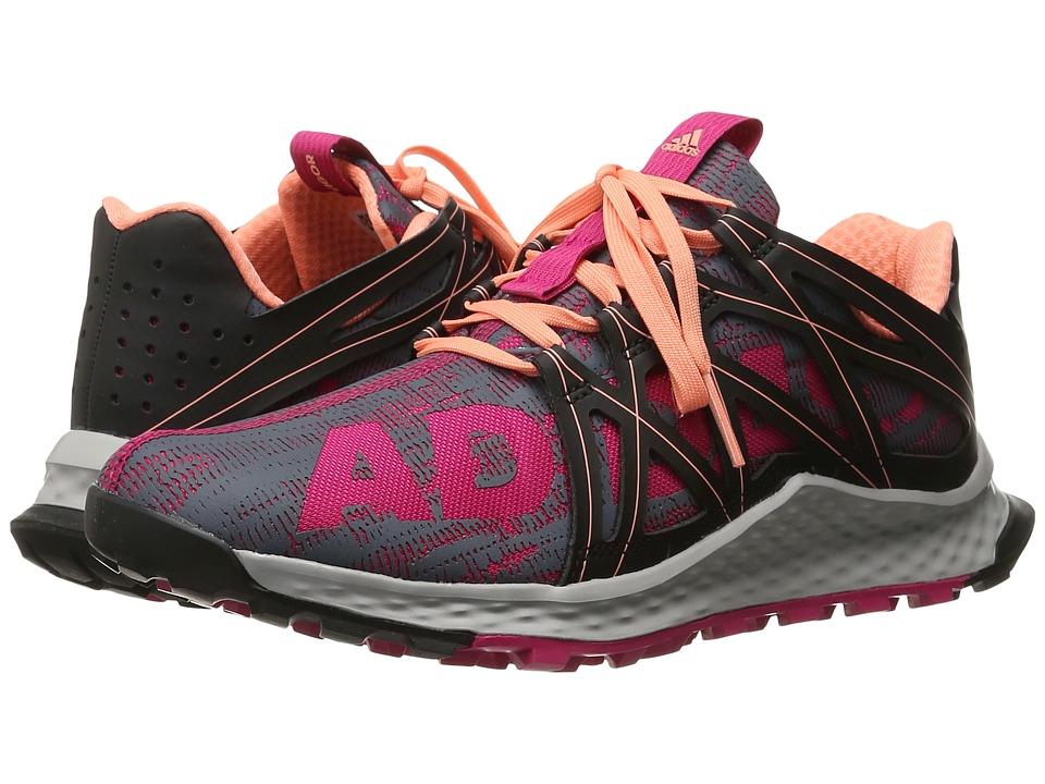 adidas Running - Vigor Bounce (Bold Pink/Core Black/Sun Glow) Women's Running Shoes