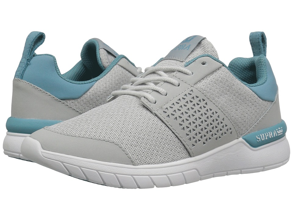 Supra Scissor (Light Grey Woven Mesh) Women