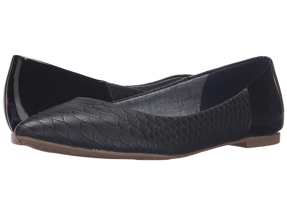 Dr. Scholl's - Sidney (Black Python) Women's Shoes