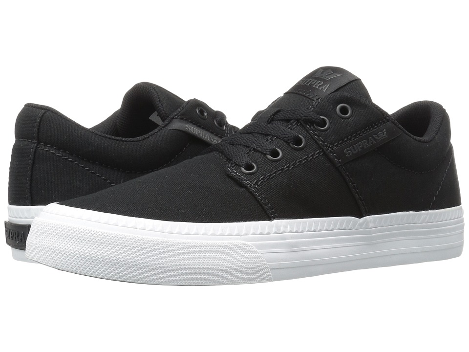 Supra - Stacks Vulc II HF (Black Canvas) Men's Skate Shoes