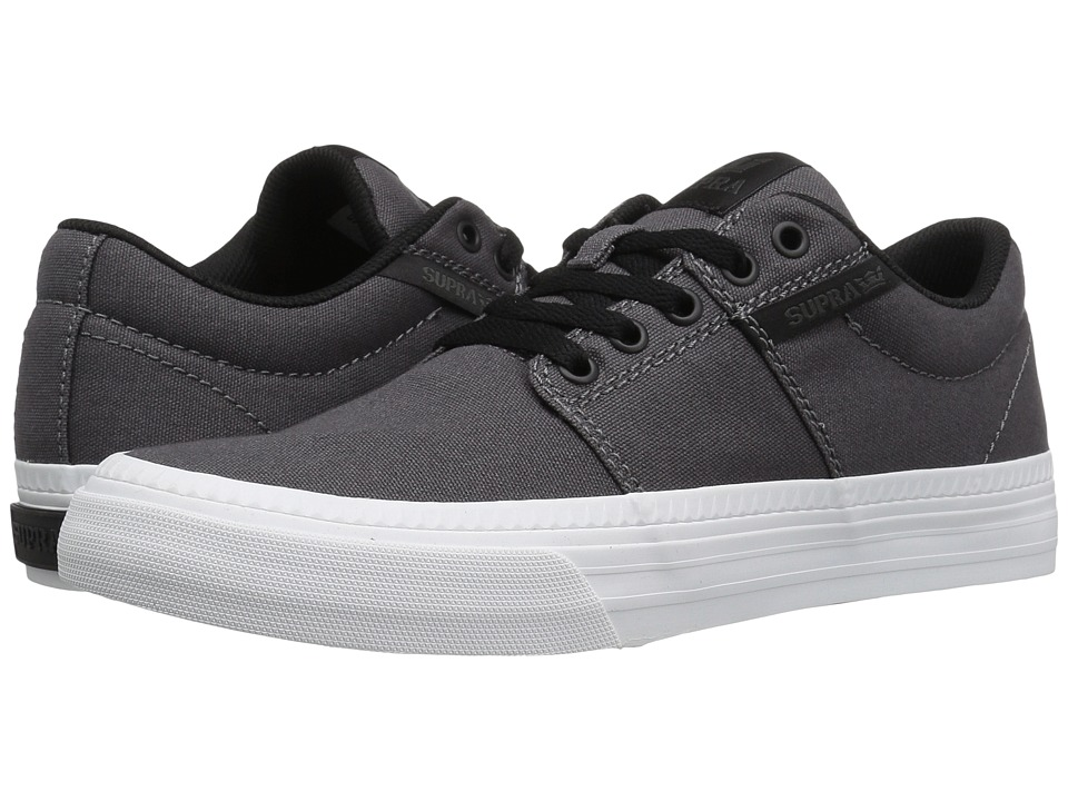 Supra - Stacks Vulc II HF (Charcoal Canvas) Men's Skate Shoes