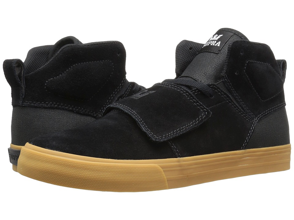 Supra - Rock (Black Suede) Men's Skate Shoes