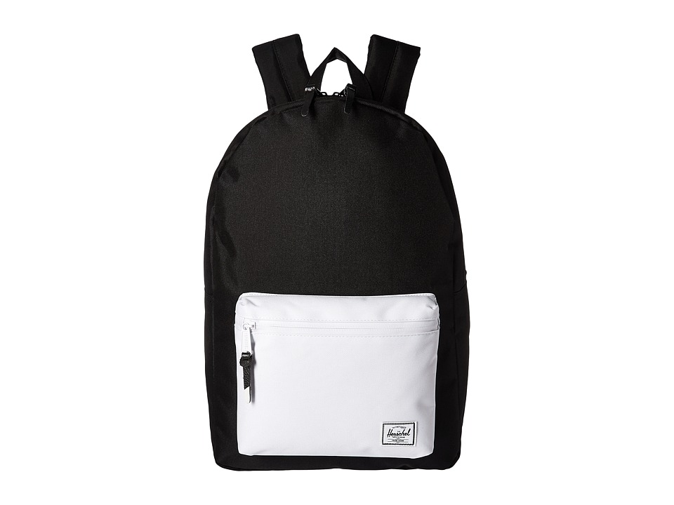 Herschel Supply Co. - Settlement (Black/White) Backpack Bags
