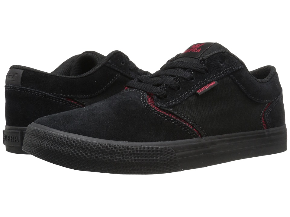 Supra - Shredder (Black Suede) Men's Skate Shoes