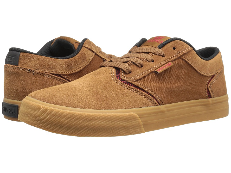 Supra - Shredder (Brown Suede) Men's Skate Shoes