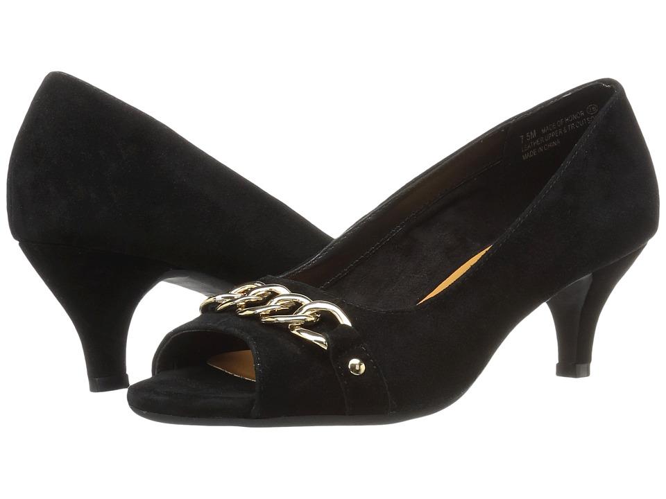 Aerosoles Made Of Honor (Black Suede) High Heels