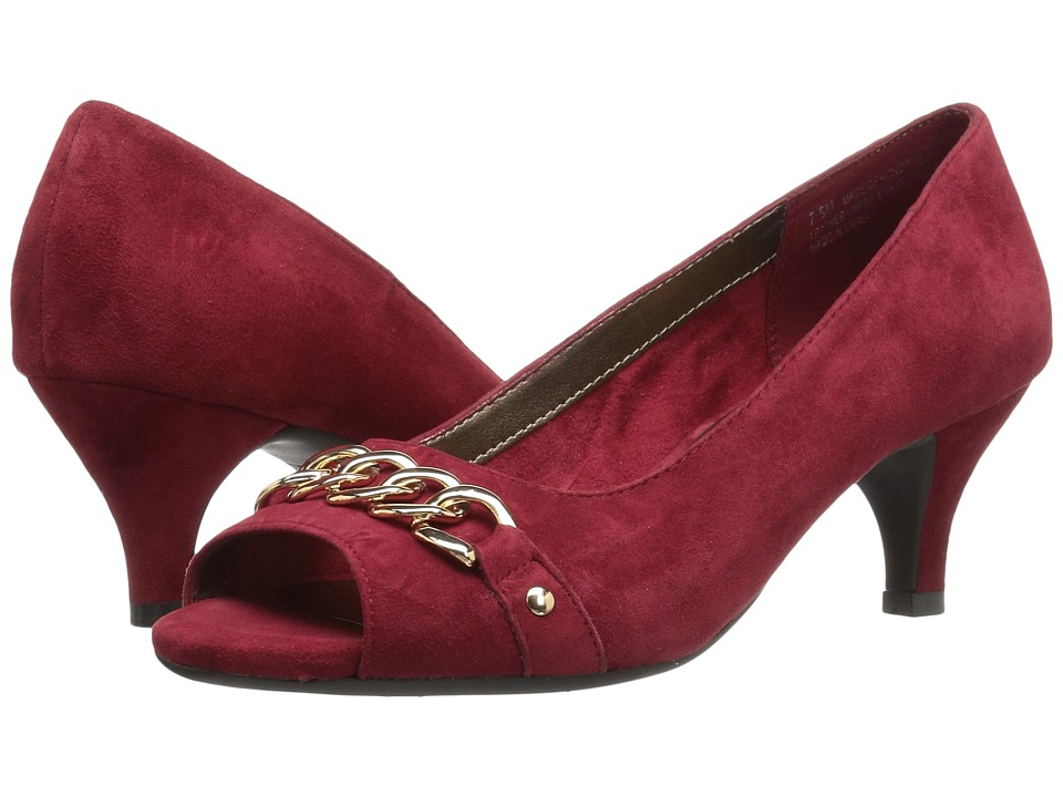 Aerosoles - Made Of Honor (Dark Red Suede) High Heels