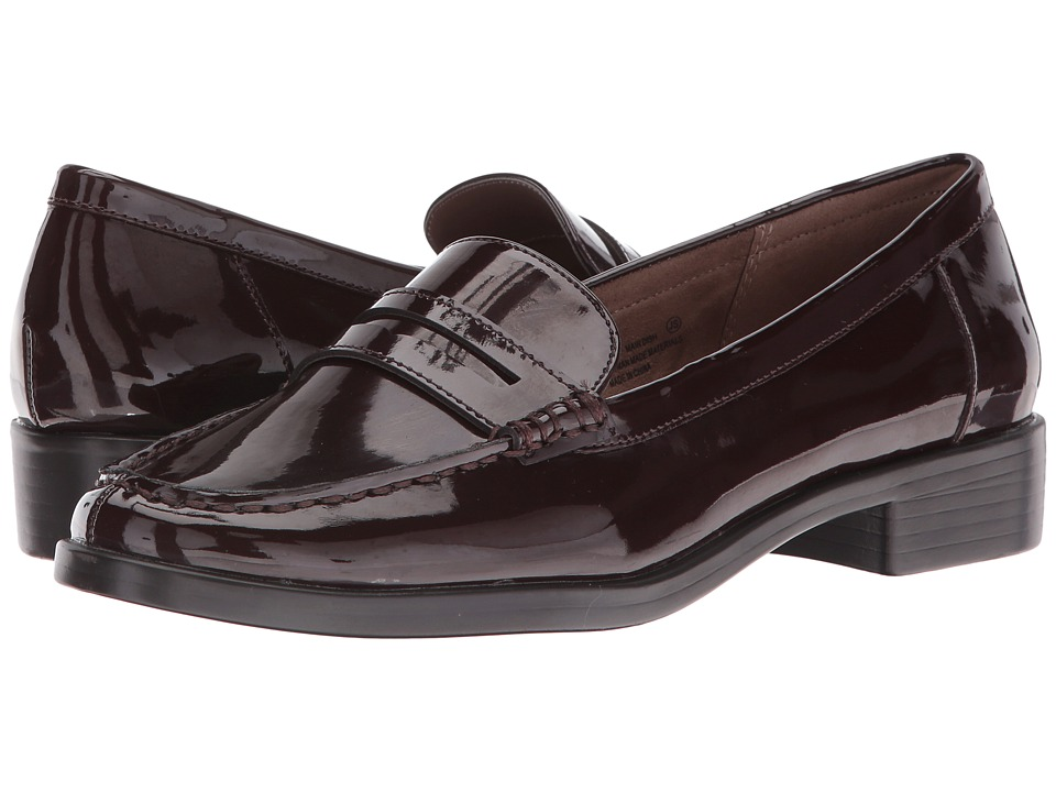 Aerosoles - Main Dish (Wine Patent) Women's Slip-on Dress Shoes