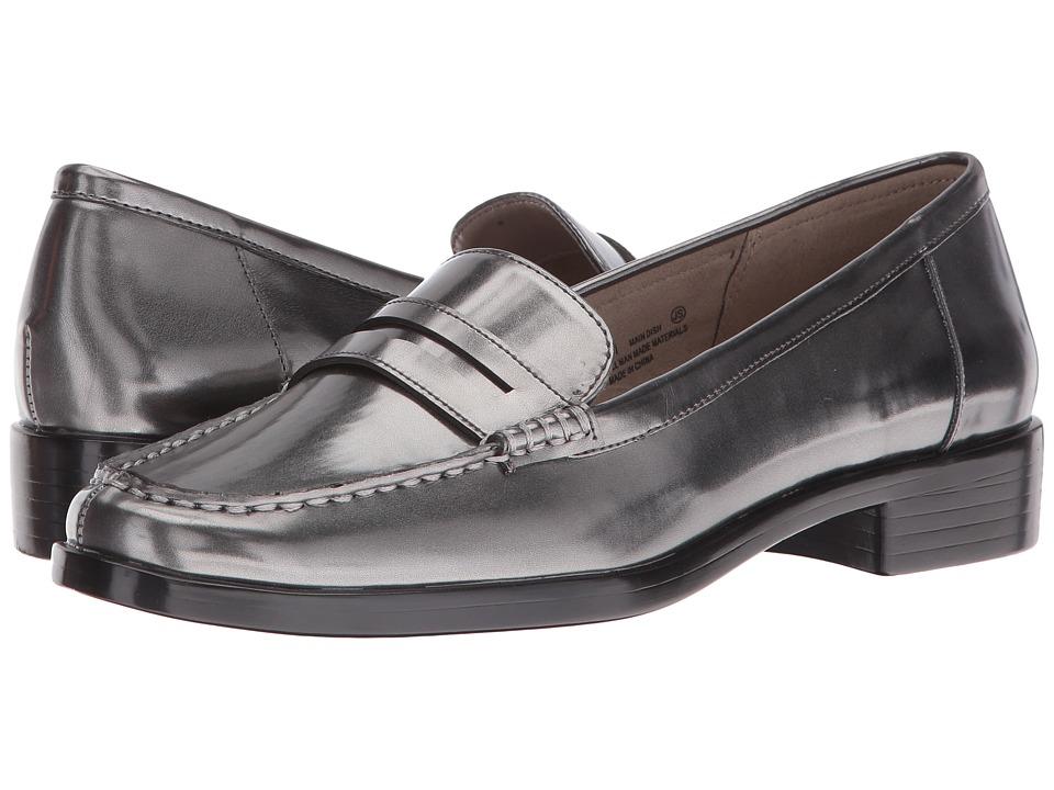 Aerosoles - Main Dish (Dark Silver Metal) Women's Slip-on Dress Shoes