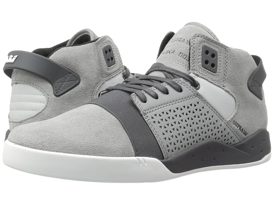 Supra Skytop III (Light Grey Suede) Men