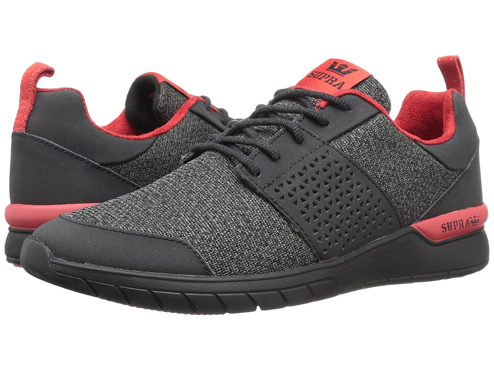 Supra - Scissor (Black Leather 1) Men's Skate Shoes