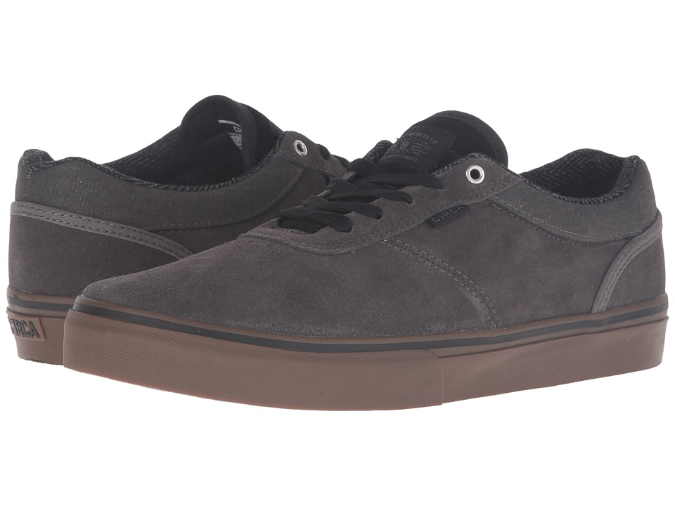Circa - Gravette (Gunmetal/Gum) Men's Skate Shoes