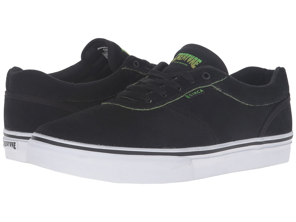 Circa - Gravette (Black/Creature) Men's Skate Shoes