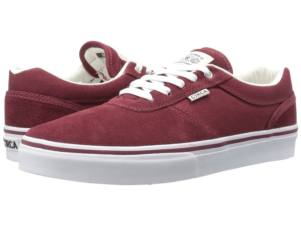 Circa - Gravette (Brick/White) Men's Skate Shoes