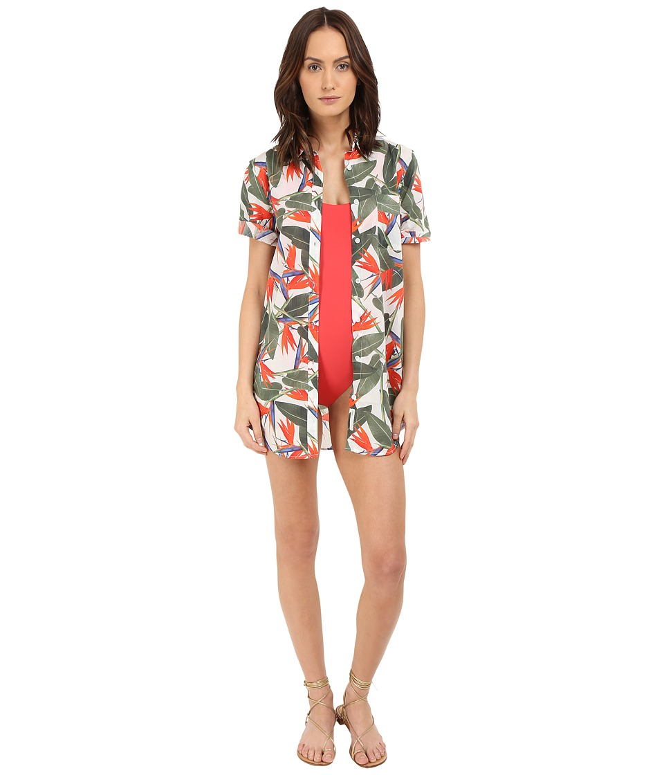onia Jesse Cover-Up (Birds of Paradise) Women