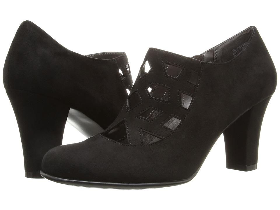 Aerosoles - Petroleum (Black Fabric) High Heels