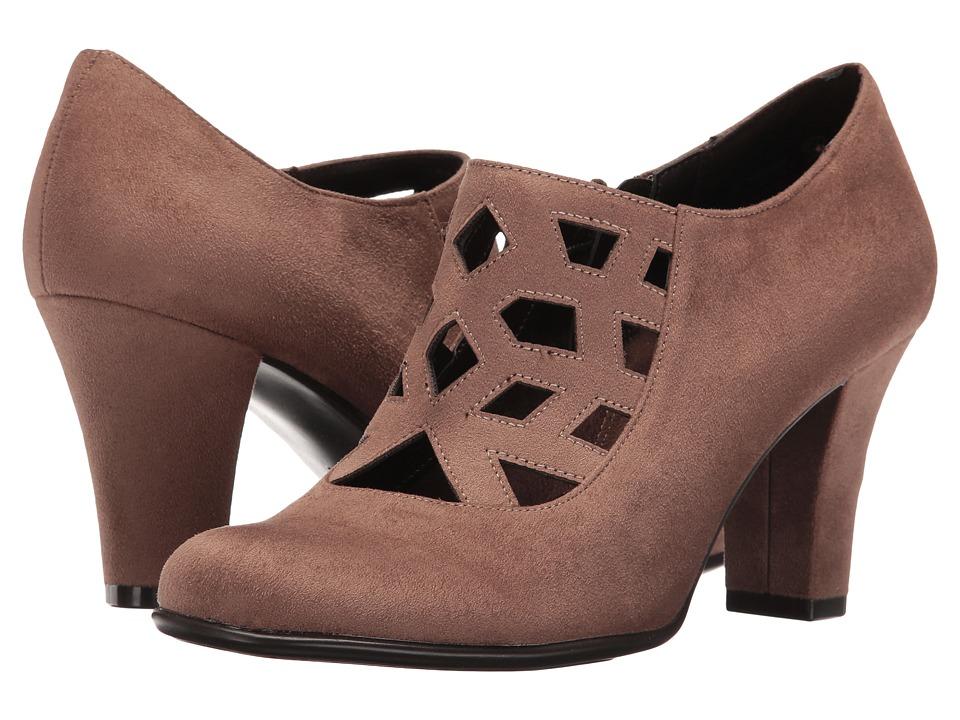 Aerosoles - Petroleum (Taupe Fabric) High Heels