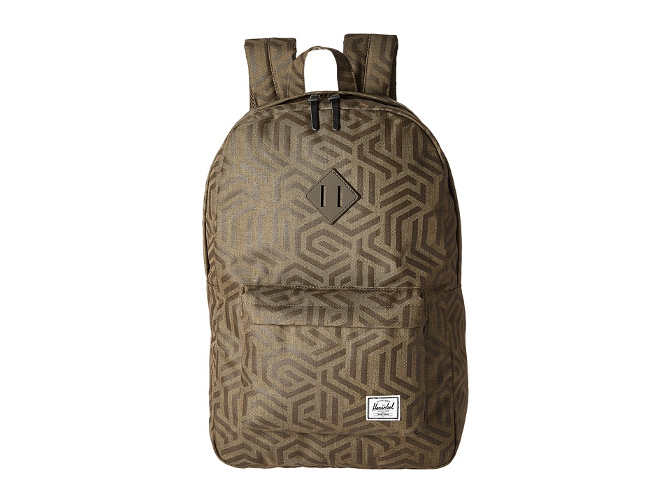 Herschel Supply Co. - Heritage (Metric/Black Rubber) Backpack Bags